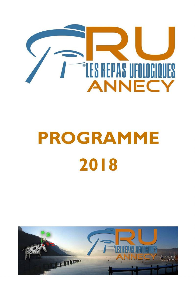 ANNECY – PROGRAMME 2018