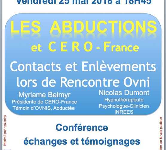 Abductions au Repas Ufoloques d'Orléans