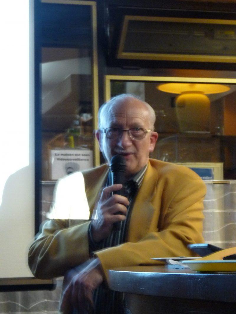 Michel Deseille et les Anciens Astronautes