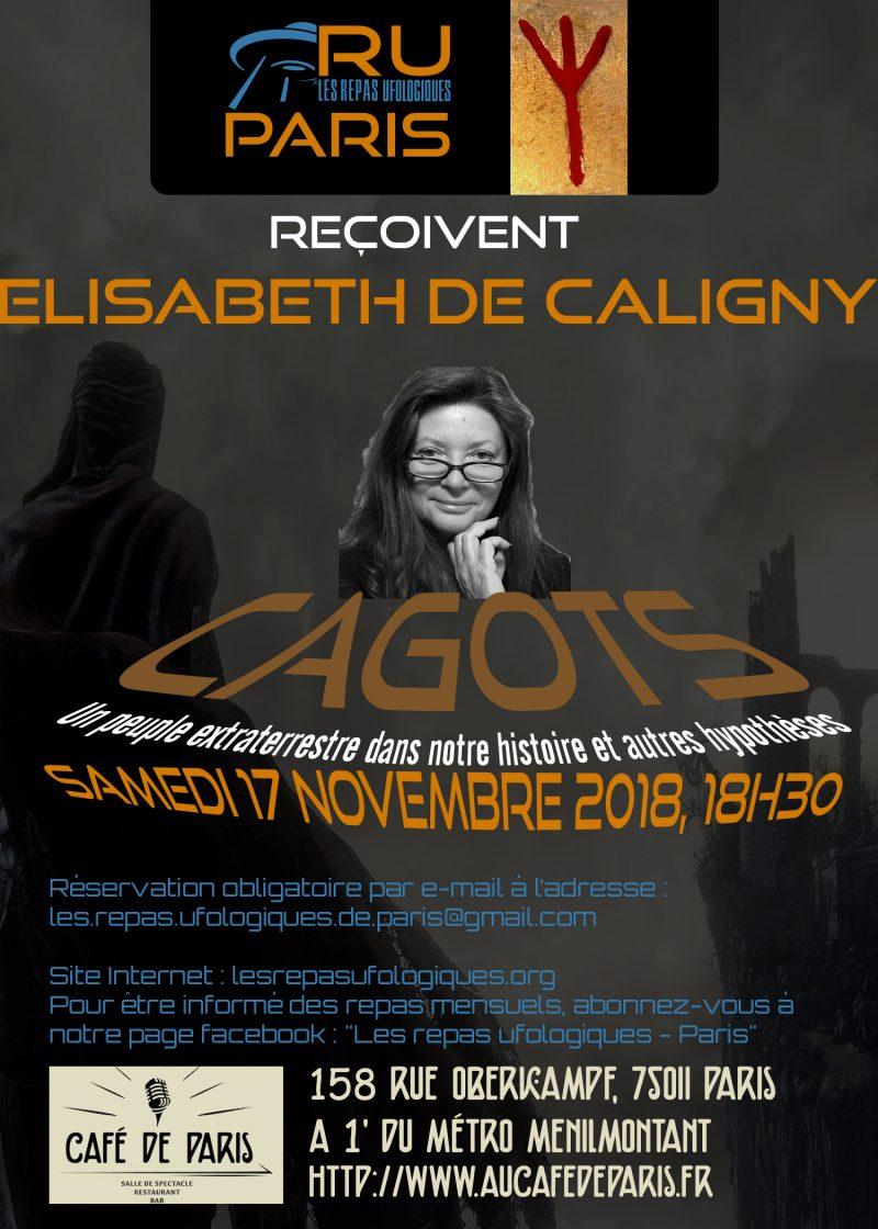 ELISABETH DE CALIGNY EN NOVEMBRE, A PARIS