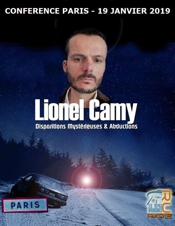 Lionel Camy, disparitions mystérieuses & abductions, 19/01/2019