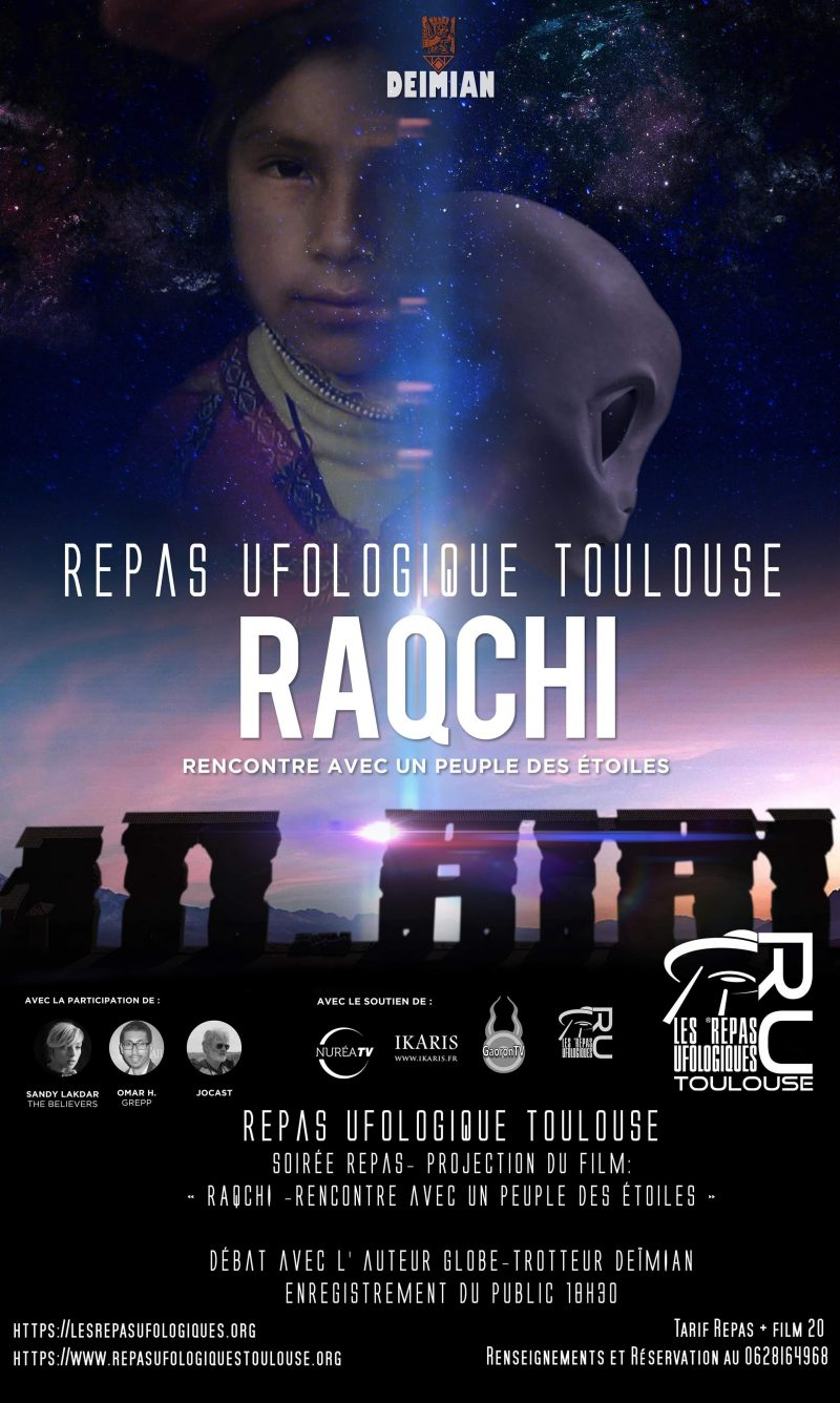 Repas Ufologique Toulouse Mercredi 12 Février DEÏMIAN