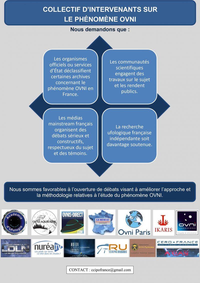 Collectif d'intervenants sur le phénomène OVNI (CIPO) – 17 septembre 2020