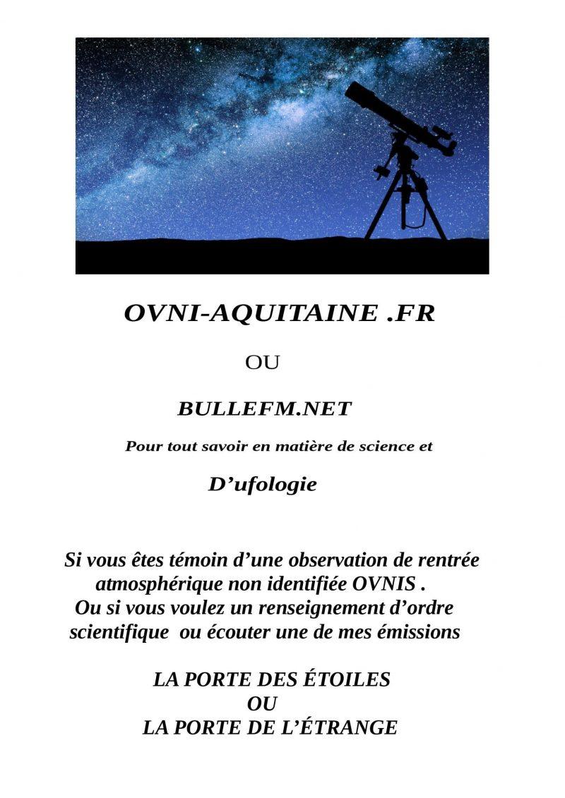 Les repas ufologiques de Villeneuve sur Lot                                   .                 VOUS PRÉSENTENT                        .